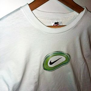 Nike Men's Graphic Logo T-Shirt White Sz Large